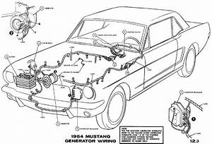 1966 Mustang Tail Light Wiring Diagram Schematic