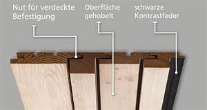 Nut Und Feder Wandverkleidung : holz fassadenprofile mit nut und feder horizontal oder vertikal ais ~ Markanthonyermac.com Haus und Dekorationen