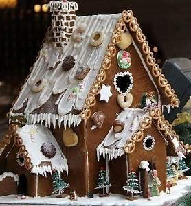 Kit Maison En Pain D Épice : maisons en pain d 39 pices des mod les des tutos ~ Nature-et-papiers.com Idées de Décoration