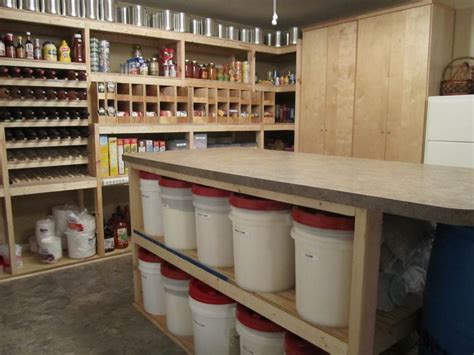 kitchen food storage ideas walk in basement pantry this is my setup food