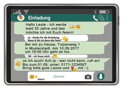 Einladung Kindergeburtstag Per Whatsapp