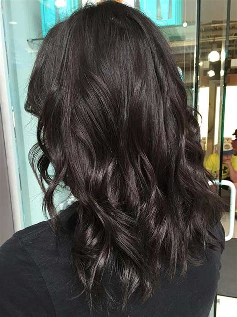 top  chocolate brown hair color ideas styles