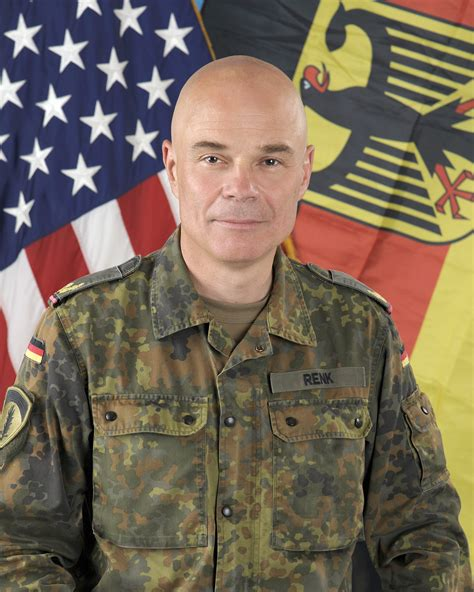 brig gen hartmut renk  army europe leaders