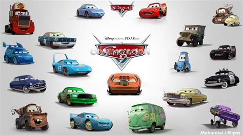 cars characters drawings pixar cars 2 characters by eliyasster on deviantart