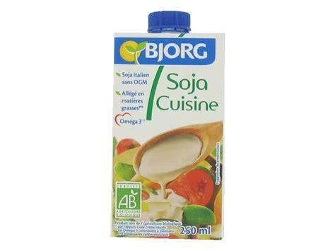 soja cuisine bjorg soja cuisine la brique de 250ml tous les produits