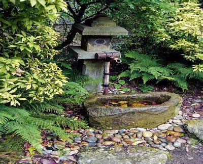 feng shui small kitchen japanese garden water fountain