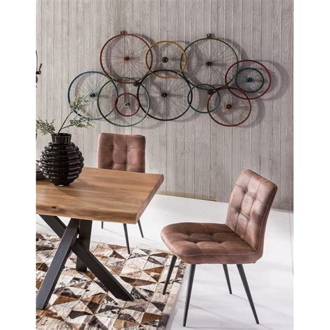 bicycle wall art wheels recycled  walls urban
