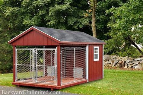 double dog kennel  backyard unlimited