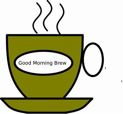Morning Clip Clipart Cliparts Brew Animated Meeting