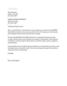 Resignation Letter in 2020 | Resignation letter, Professional resignation letter, Job