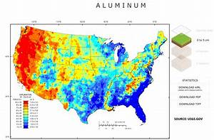 Aluminum In The United States Prevalence In Soil And
