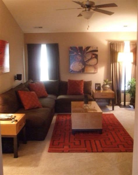 brown and orange living room ideas living room ideas orange and brown