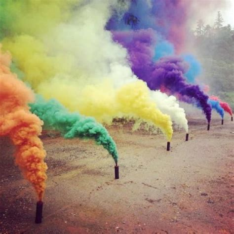 colored smoke bombs photography on carousell