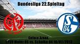 1.FSV Mainz 05 vs.Schalke 04 2:2, Bundesliga,22. Spieltag ...