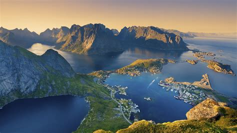 Lofoten Island From Norway  Landscape Wallpaper Wallpaper
