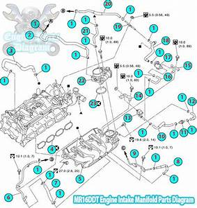 2014 Nissan Juke Intake Manifold Diagram  Mr16ddt Engine