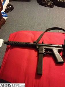 ARMSLIST - For Sale: tec 9 with extended barrel