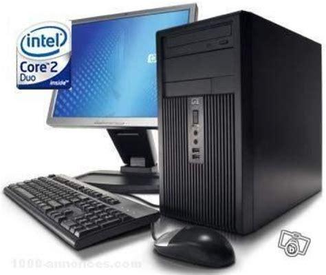 pc bureau hp 2 duo achat ordinateur de bureau et pc portable hp sur