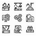 Icons Production Mass Machine Vector Icon Flaticon