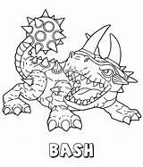 Skylanders Coloring Pages Bash Skylander Printable Print Sheets Giants Trap Sonic Team Generations Hedgehog Getcoloringpages Printables Shadow Adult Grinch Rex sketch template