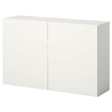 meuble mural cuisine ikea knoxhult wall cabinet with doors white 120x75 cm ikea