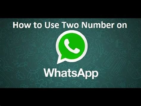 use two whatsapp account on any android without root