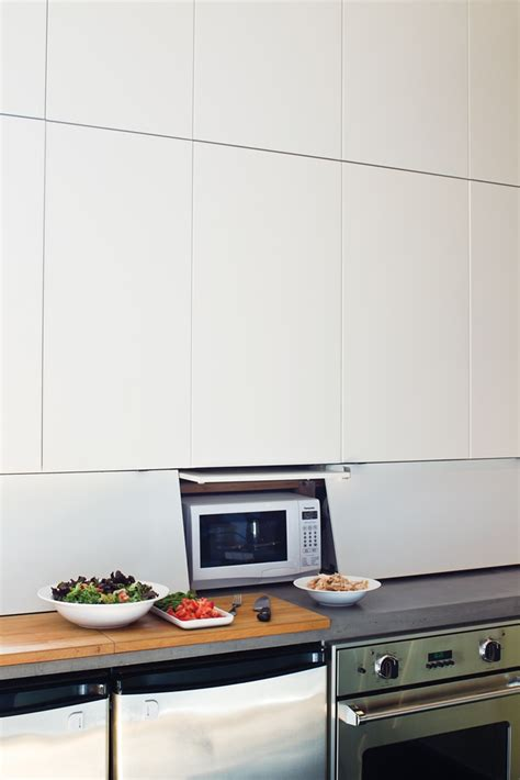 appliance garage from ikea cabinets kitchen