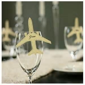 mariage theme voyage ballon avion mariage thème voyage lot de 8 par un jour spécial accessoires décorations de