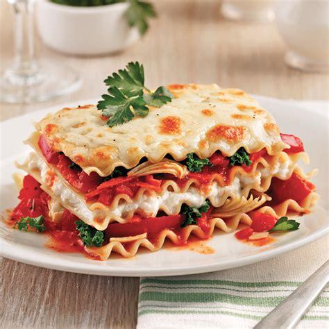 cuisine lasagne lasagne au chou kale et artichauts à la mijoteuse