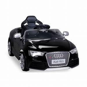 Voiture Electrique Bebe Audi : voiture lectrique pour enfant audi rs5 noire ~ Dallasstarsshop.com Idées de Décoration