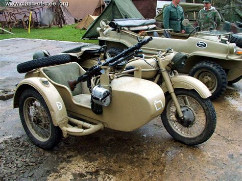 Allied Victory Sidecar Motorcycle, Allied, Free Engine