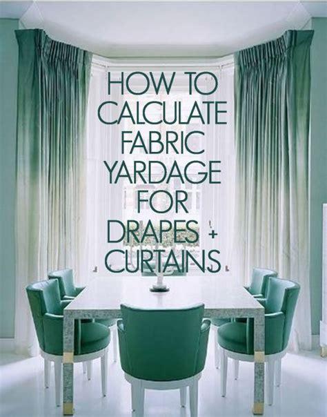 calculating yardage drapes curtains shopjoya magazine