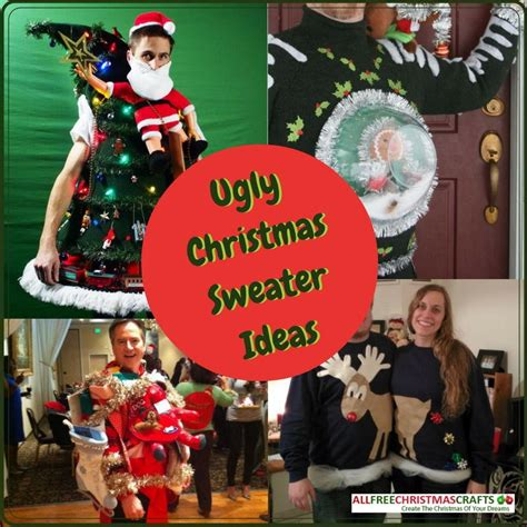 how to make an ugly sweater 5 ugly christmas sweater