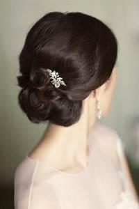 Inspiration Tutoriels De Cheveux De Mariage Le Chignon
