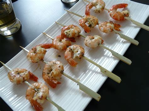 xeres cuisine gaspacho et petites brochettes de crevettes cuisine chez les tiocs