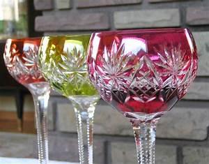 Service De Verre En Cristal : verre cristal de saint louis service vin du rhin ~ Teatrodelosmanantiales.com Idées de Décoration