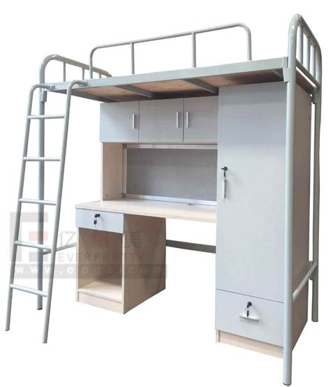 single bunk bed with desk and wardrobe buy dubai