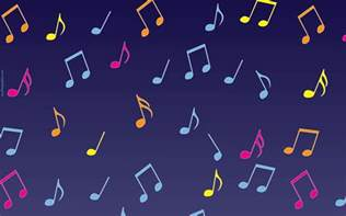 Free Twitter Backgrounds Music Notes
