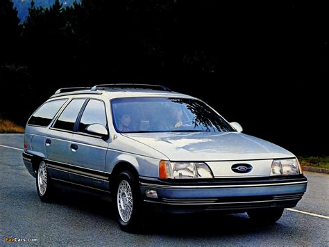 Photos of Ford Taurus Wagon 1985–91 (1024x768)