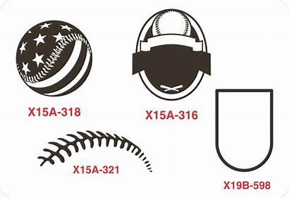 Baseball Clip Softball Shirt Designs Layout Laces