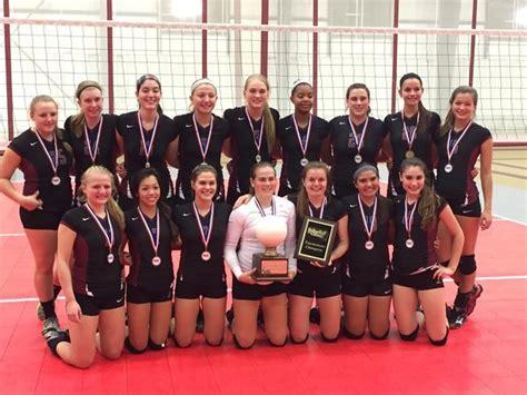 farmington girls volleyball team wins  team tournament