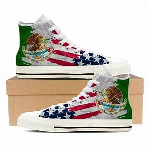 Mexican American Pride Shoes – Groove Bags
