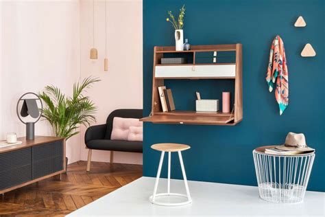 bureau secretaire vintage 8 idées de bureau mural rabattable pour petits espaces