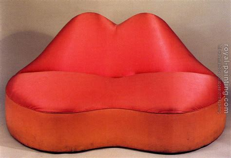 mae west lips sofa mae west lips sofa by salvador dali oil painting