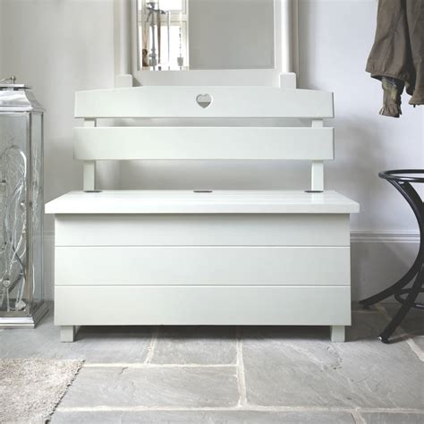 storage bench seat pine storage bench seat choice of colours by the