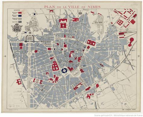 Mairie Ville De Plan De Plan De La Ville De Nimes