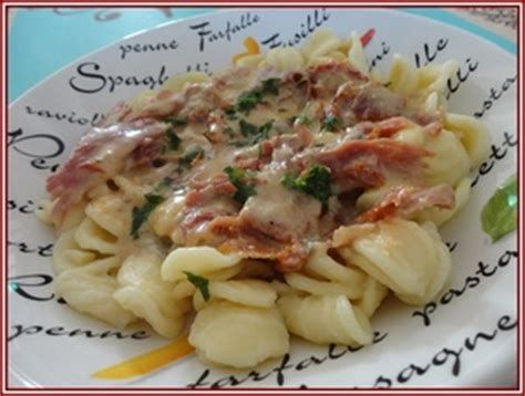 p 226 tes au gorgonzola jambon fum 233 et tomates s 233 ch 233 es recette iterroir