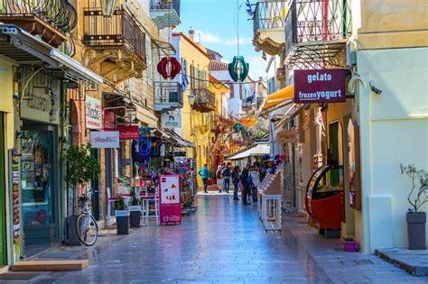 Nafplio, Greece Street View Editorial Photo - Image of ...