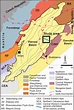 Simplified geological map of the Vienna Basin, situated at ...