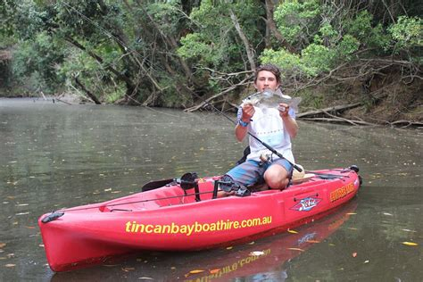 Fishing Boat Hire Rainbow Beach by Cameron S Trip To Noosa On The Tin Can Bay Boat Hire Hobie